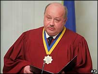 Supreme Court Chief Justice Anatoly Yarema