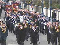 The parade is an annual event
