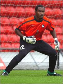 Enyimba goalkeeper Vincent Enyeama