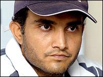 India captain Sourav Ganguly