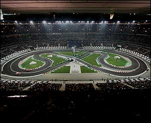 The track at the Stade de France