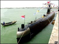 Chinese submarine