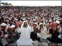 Prayers in Tongi, Bangladesh