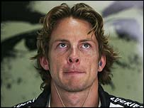 BAR driver Jenson Button