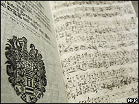 Vocal work by Johann Sebastian Bach found in Weimar, 7 Jun 05