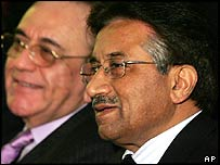 General Musharraf in London