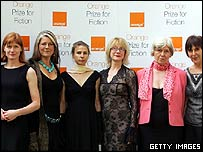 Shortlisted authors for the Orange Prize
