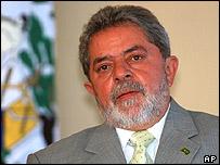 Brazil's president, Lula