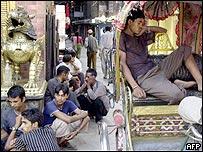 Nepalis in Kathmandu