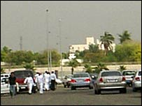 Picture sent in by reader Mohammad Amir showing scene of attack in Jeddah