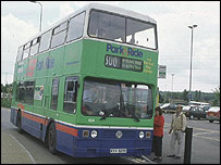 Park and ride in Oxford