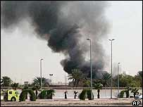 Smoke rises from US consulate in Jeddah