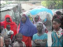 Refugees living in former headquarters of Somalia's national airlines