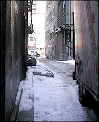 New York alley