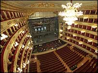 La Scala in Milan. Photo copyright Marco Brescia/Teatro alla Scala