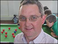 Head teacher Dyfrig Ellis