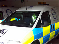Fife Police speed van