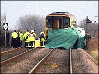 Helpringham train crash