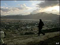 Kabul hills