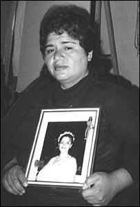 Rosa Franco, madre de María Isabel  (Gentileza: Amnistía Internacional)