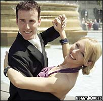 Strictly Come Dancing duo Anton Du Beke and Hazel Newberry