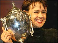 Tanni Grey-Thompson won the BBC Wales Sports Personality of the Year award for the third time