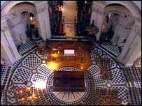 Внутри собора Святого Павла