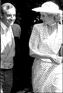 Diana, Princess of Wales and Barry Mannakee