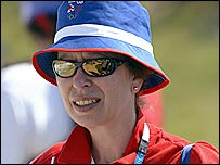 The Princess Royal at the Athens Olympics