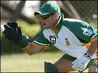 Wicket-keeper Mark Boucher