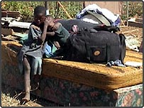 Orphans in Zimbabwe affected by the evictions (photo taken by a BBC News website user)