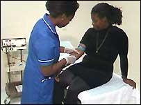Blood test for Hepatitis