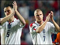 England following their exit from Euro 2004