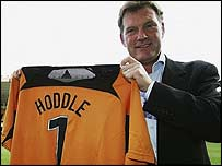 New Wolves manager Glenn Hoddle