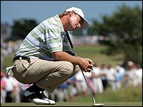Ernie Els at the 2004 US Open