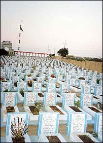 Graves at Wadi-a-Hussain