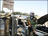 Hawija's Dibis checkpoint after bombing