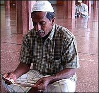 Muslim in eastern Sri Lanka