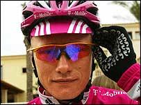 Kazakhstan rider Alexandre Vinokourov