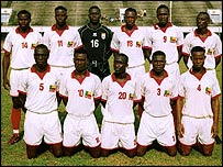 Benin's under-20 team