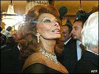 Italian screen icon Sophia Loren