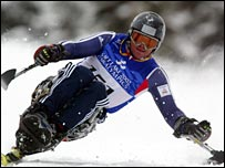 Paralympic skier Russell Docker