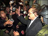 Hormando Vaca Diez, presidente del Senado de Bolivia
