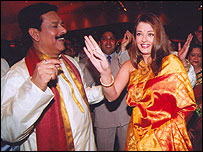 Subroto Roy and Ashwariya Rai