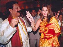 Subroto Roy and Ashwariya Rai