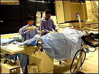 Angioplasty at Hammersmith Hospital