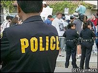 police in Santa Maria