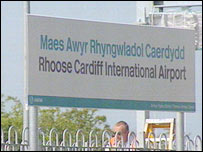 The service will link up to Cardiff International Airport