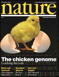 Magazine cover (Nature)