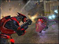 Screen grab from Halo 2